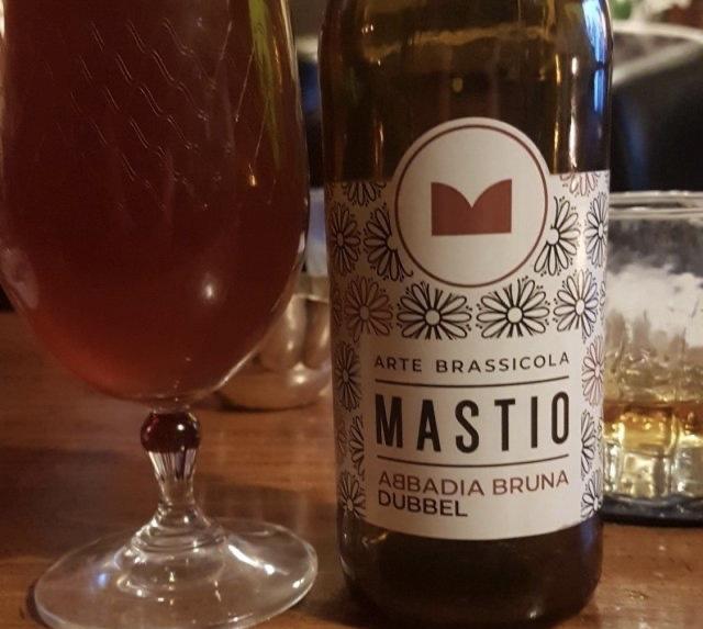 Birra Abbadia Bruna Dubbel Il Mastio 33cl