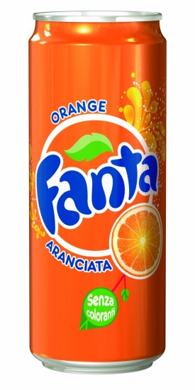 Fanta aranciata lattina 33 cl