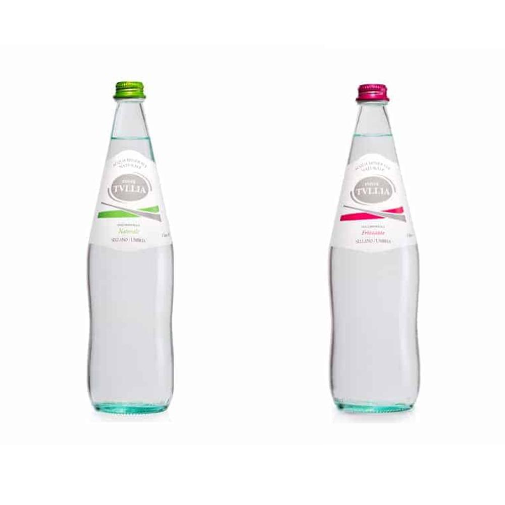 Acqua minerale naturale / frizzante Tullia 0,50 L