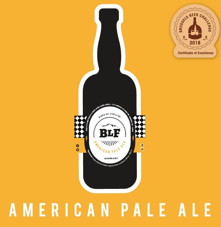 Birra American Pale Ale Birrificio Le Fate 50 cl