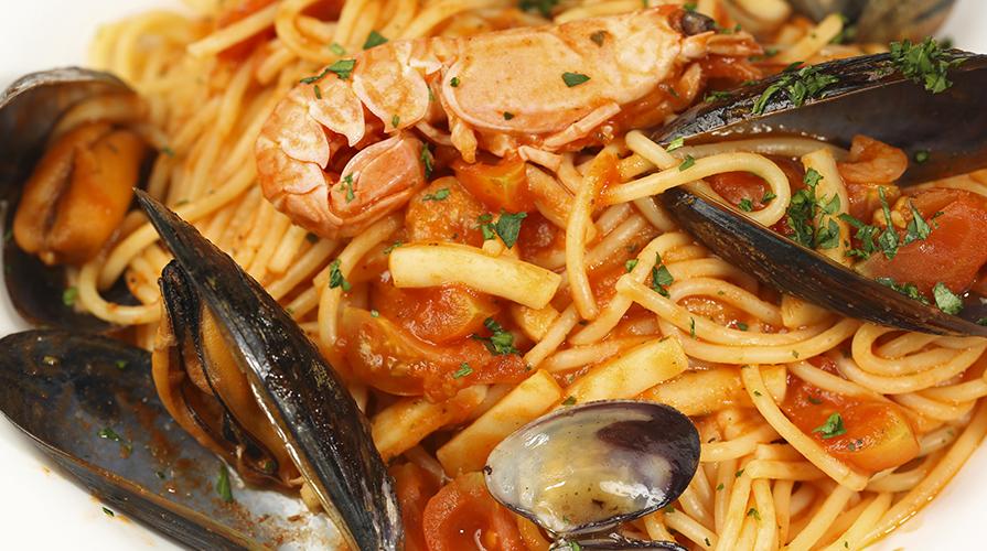 Spaghetti alla marinara/cozze/vongole