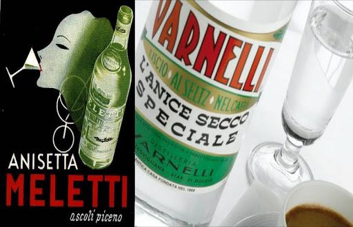 Anisetta Meletti / Sambuca / Varnelli / Limoncino / Liquirizia